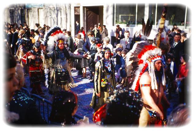 Des indiens dans la ville - Printemps 1965, Nancy Lorraine...