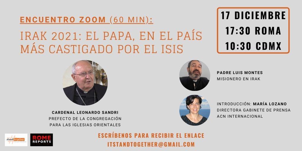 Conferencia acerca del viaje del Papa a Irak