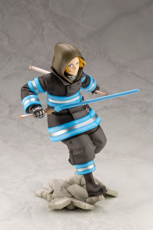 ARTFX J 《炎炎消防隊》亞瑟·波義耳 1/8比例模型 貫徹騎士精神的騎士王來啦!