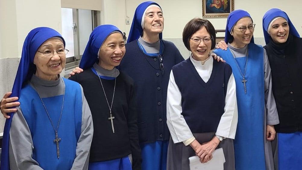 Nueva postulante en el Monasterio de Taiwán