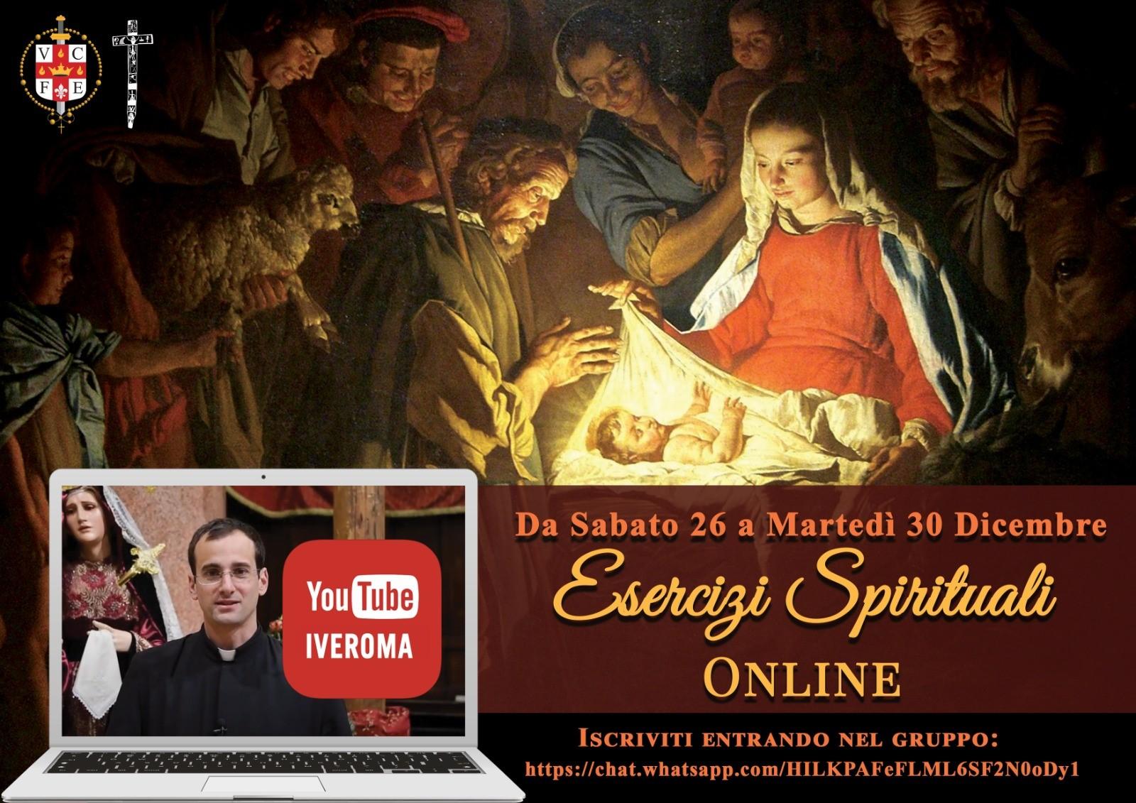 Ejercicios Espirituales de Navidad por internet en Italia