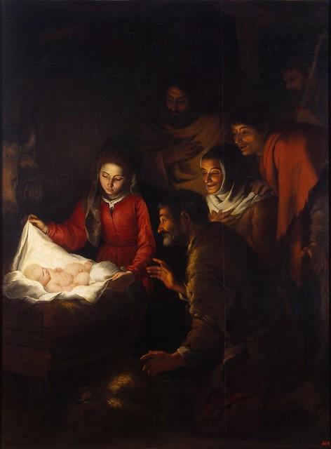 Бартоломе Эстебан Мурильо. Поклонение пастухов. 1646–1650 годы. Эрмитаж