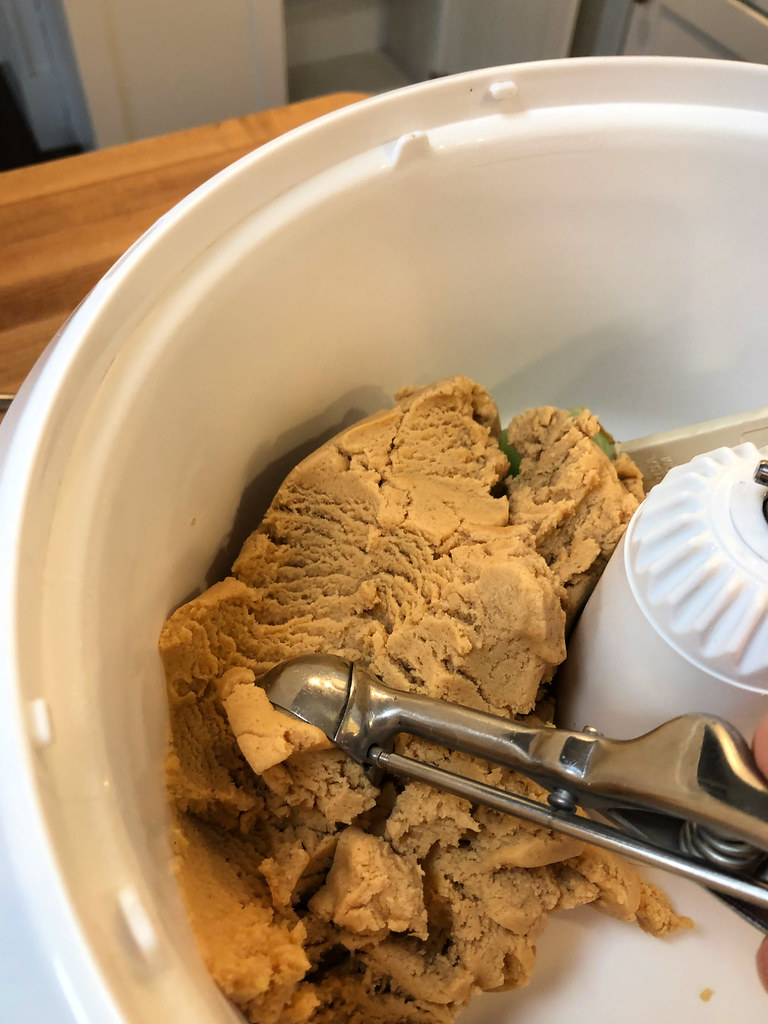 our favorite peanut butter cookie dough