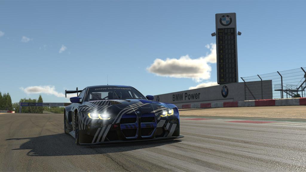 iRacing BMW M4 GT3 5