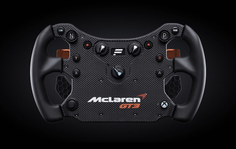 Fanatec McLaren GT3 V2 Delantero