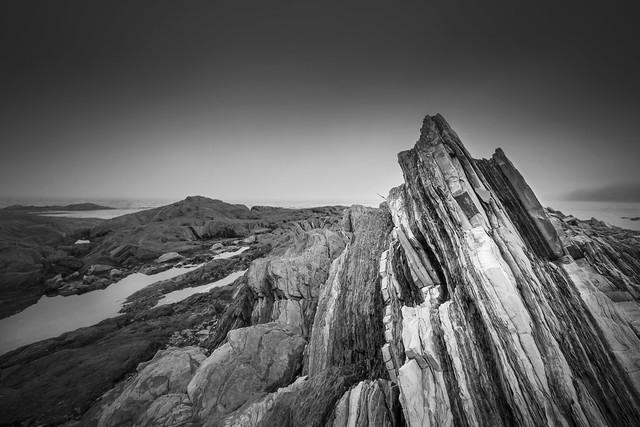 Rock Formation along the shores of La Martre