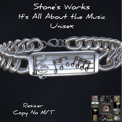 All About the Music Bracelet Stone's Works