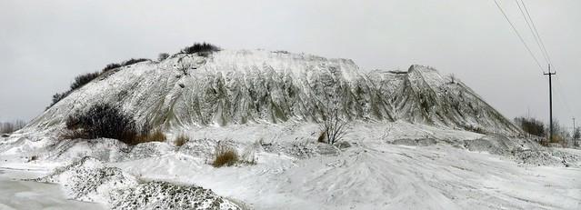 Lubjakivisõelmepuistang / Spoil of limestone fines