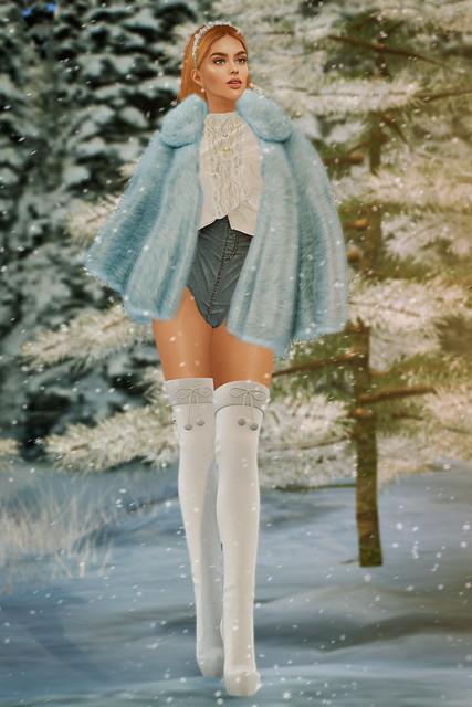 Baby Blue Snow