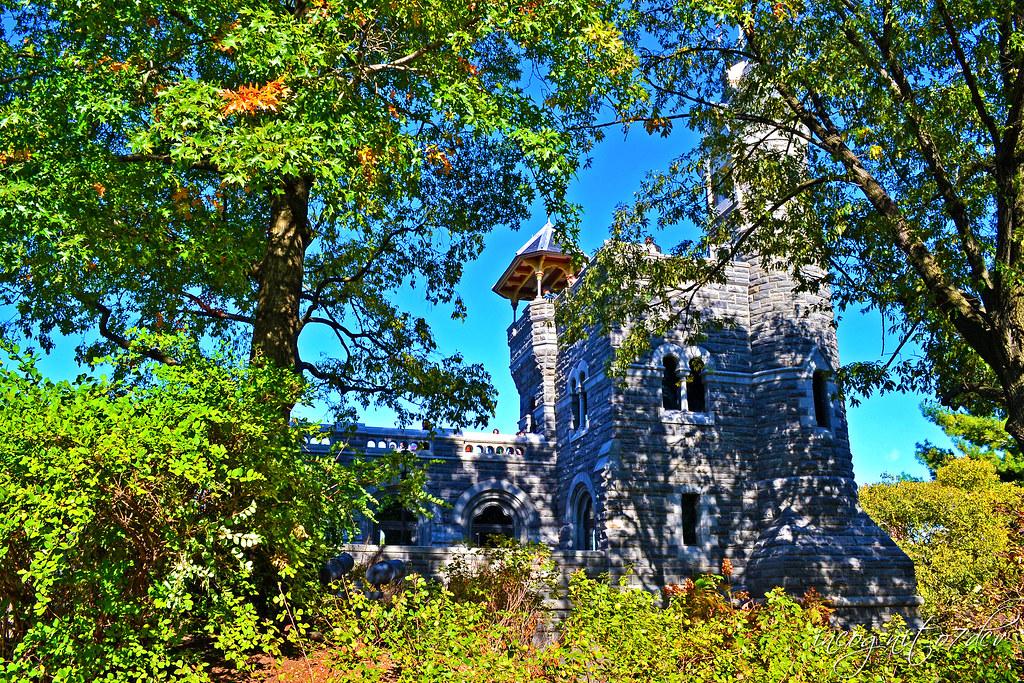 Belvedere Castle in Central Park Manhattan New York City NY P00744 DSC_1351
