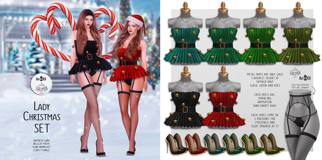 Art&KO.Sorumin- Lady Christmas SET – TRES CHIC