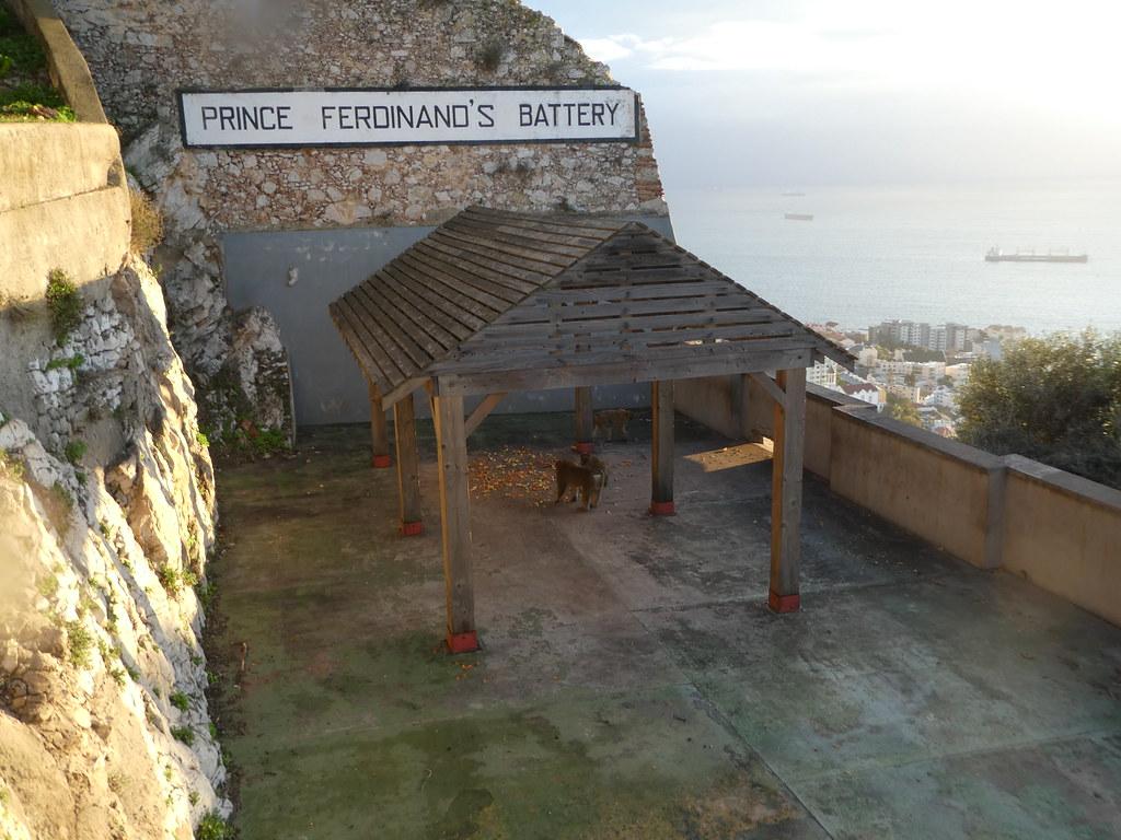 Apes Den, Upper Rock Nature Reserve, Gibraltar