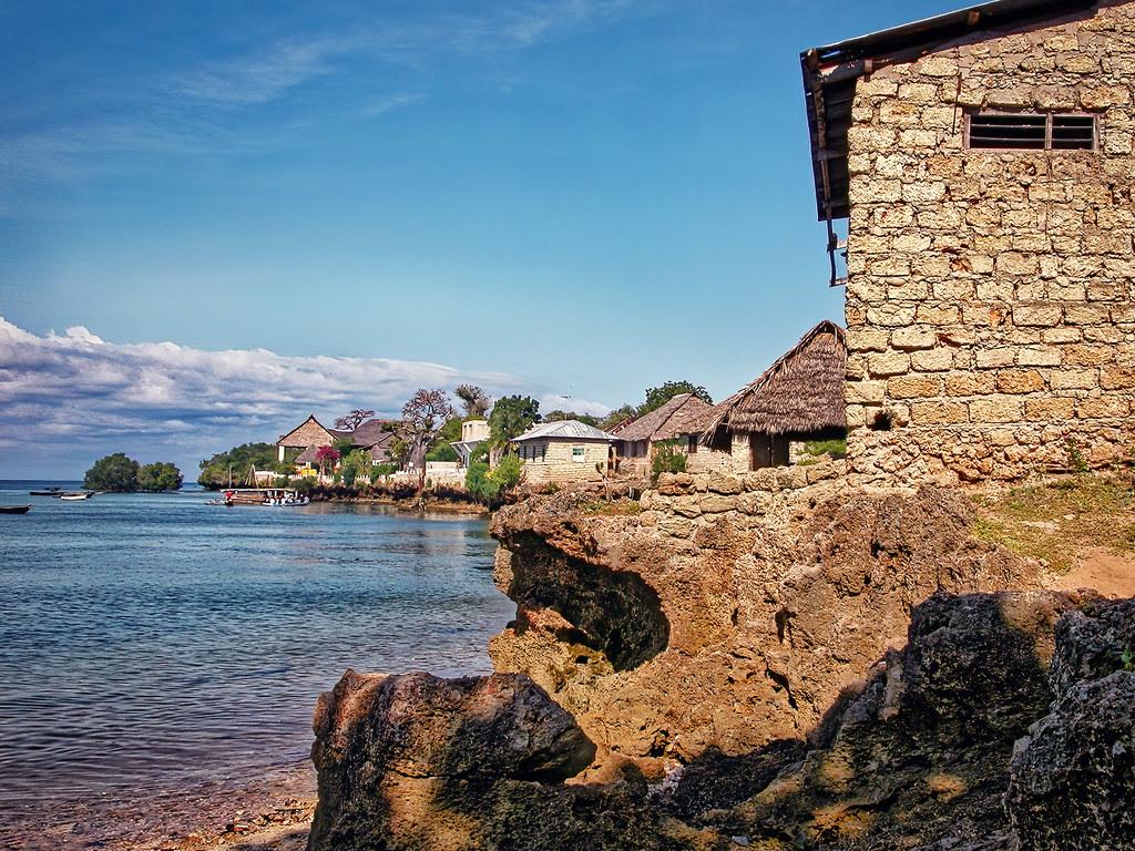 Le village de l'île de Wasini... 50730192602_fbae6c5043_b