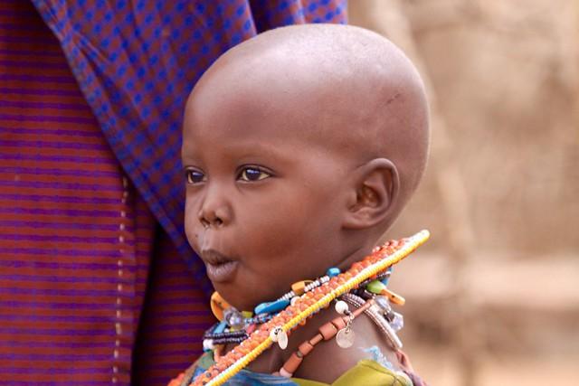 Enfant Masaï