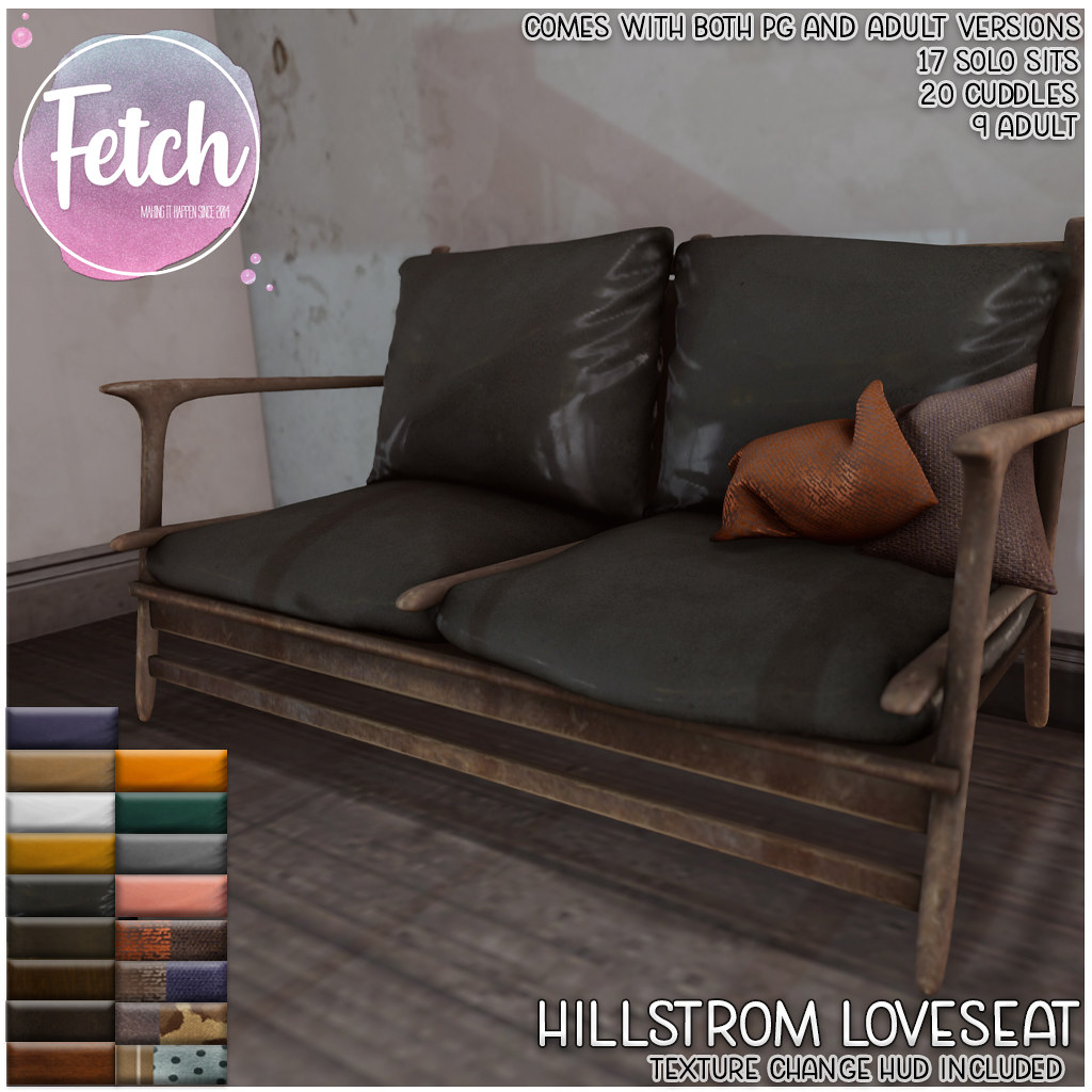 [Fetch] Hillstrom Loveseat @ Fifty Linden Friday