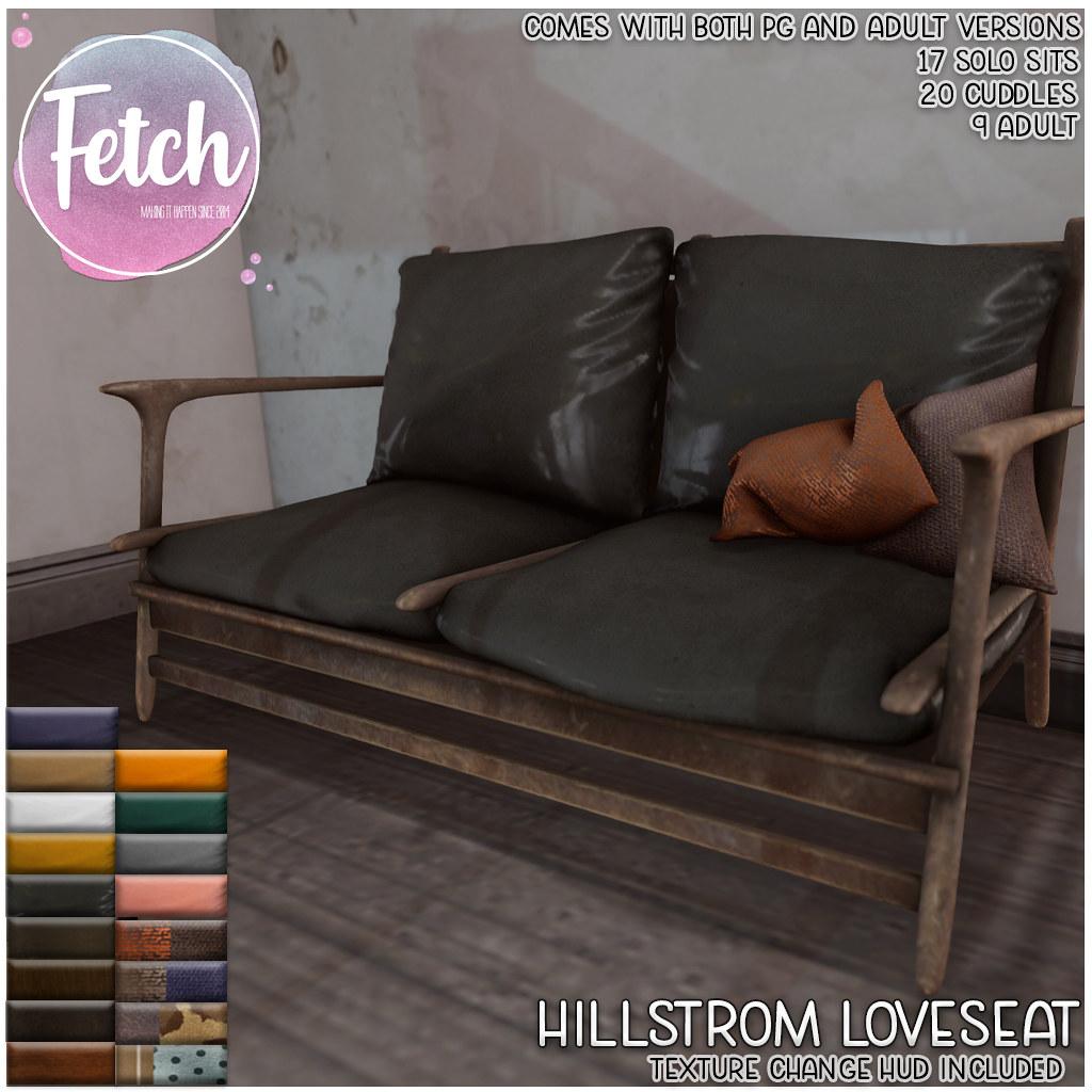 [Fetch] Hillstrom Loveseat @ Fifty Linden Friday