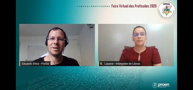 Bloco VIII - CCET - Feira Virtual das Profissões - 17-12-2020