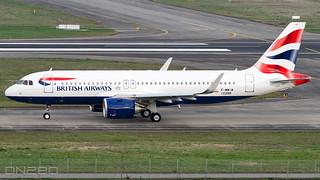 British Airways A320-251N msn 10388 F-WWIM / G-TTNO