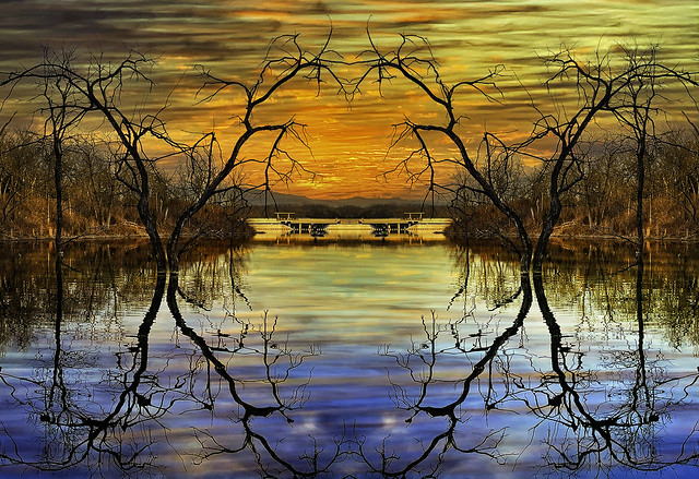Dam Nice Reflection