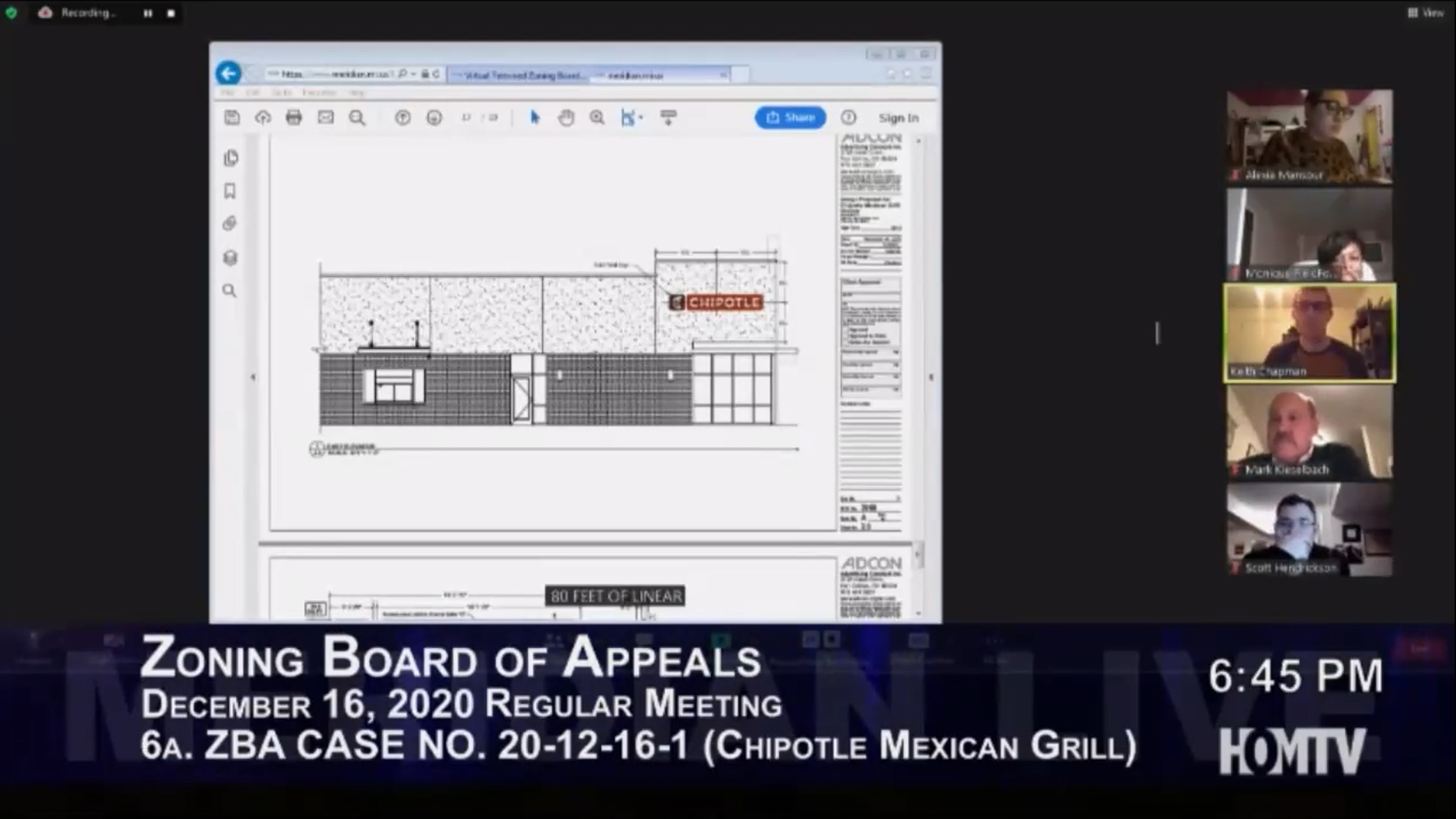 Second Commercial Sign Approval For Local Grill Restaurant