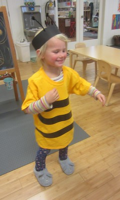 three stripes for a three year old bee