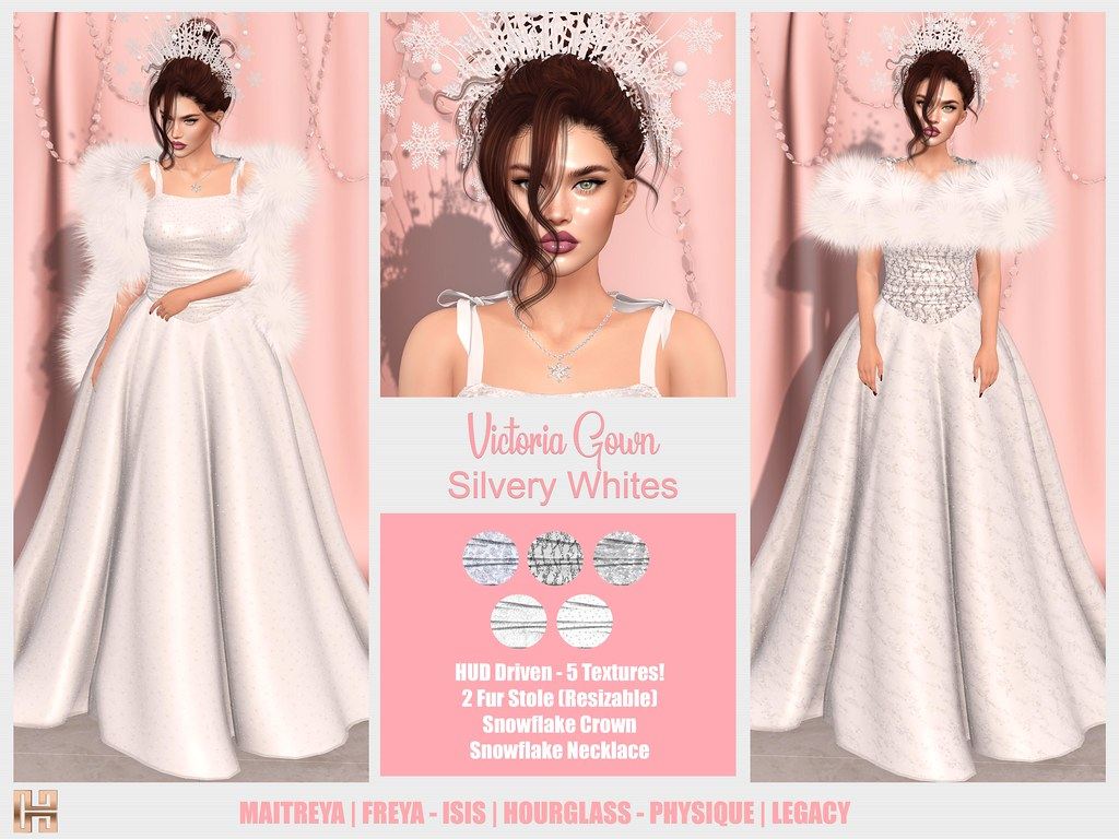 Hilly Haalan - Victoria Gown Outfit