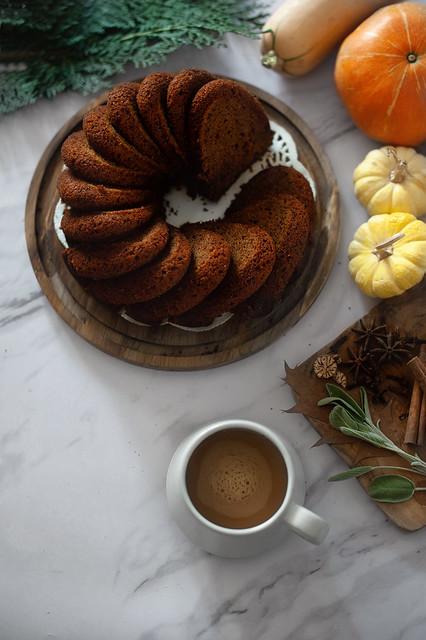 pumpkin spices cake