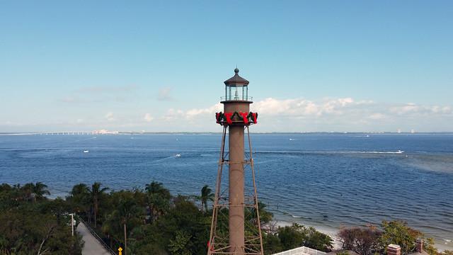 Lighthouse at Christmas