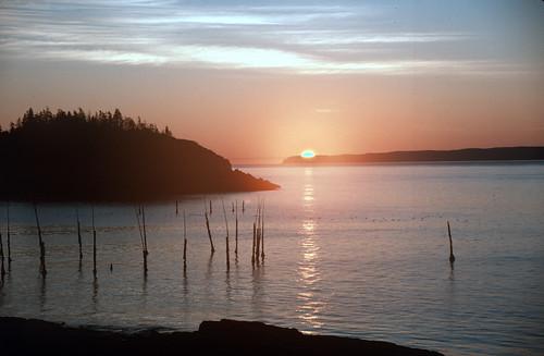 Sunrise on the Maine Coast