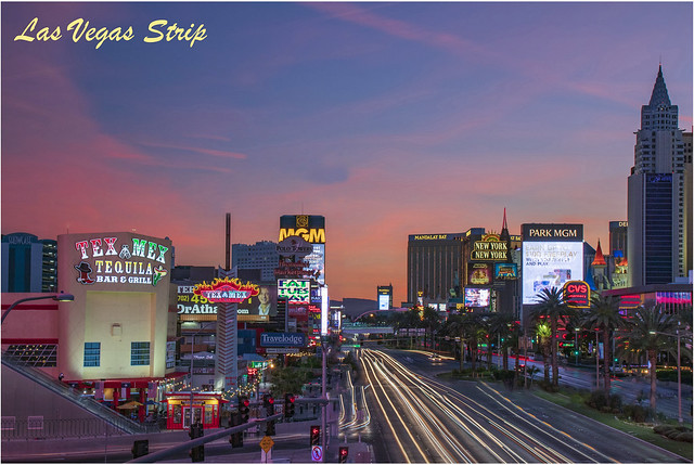 Las Vegas - The Strip at Night