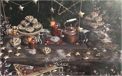 Dahlia - Winter Solstice - For Saturnalia