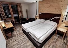 Pokojíček v hotelu Alpenruh