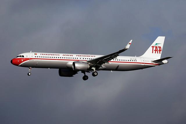 TAP Air Portugal Airbus A321-251NX CS-TJR