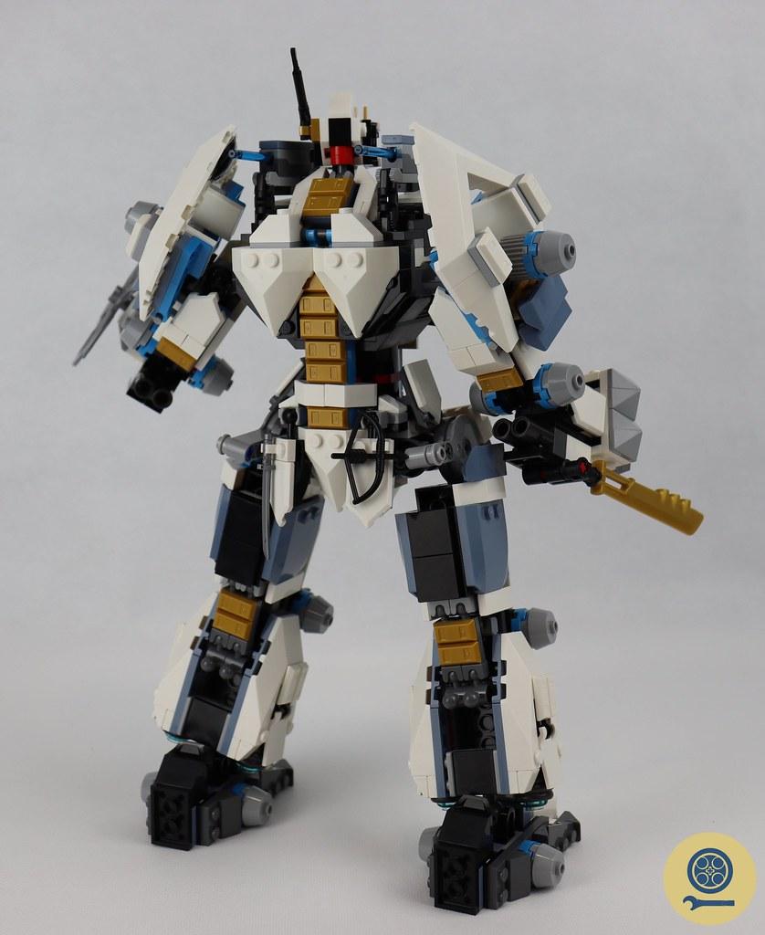 71738 Zane's Titan Mech Battle 8