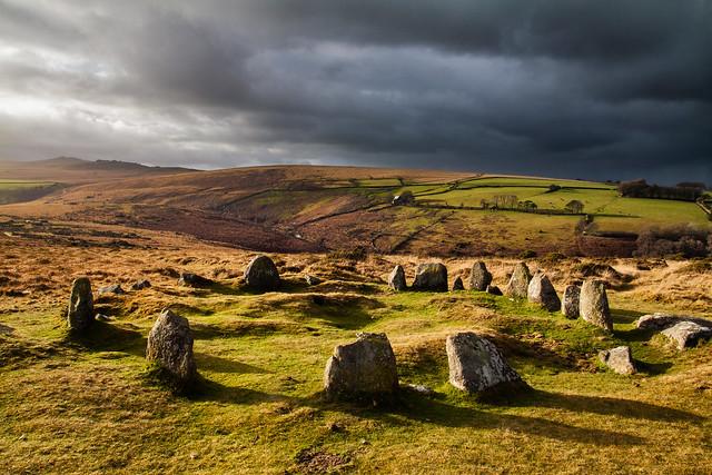 The Nine Maidens Stone Circle