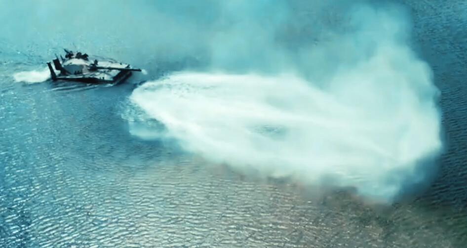 В России успешно испытали первый в мире плавающий лёгкий танк «Спрут»