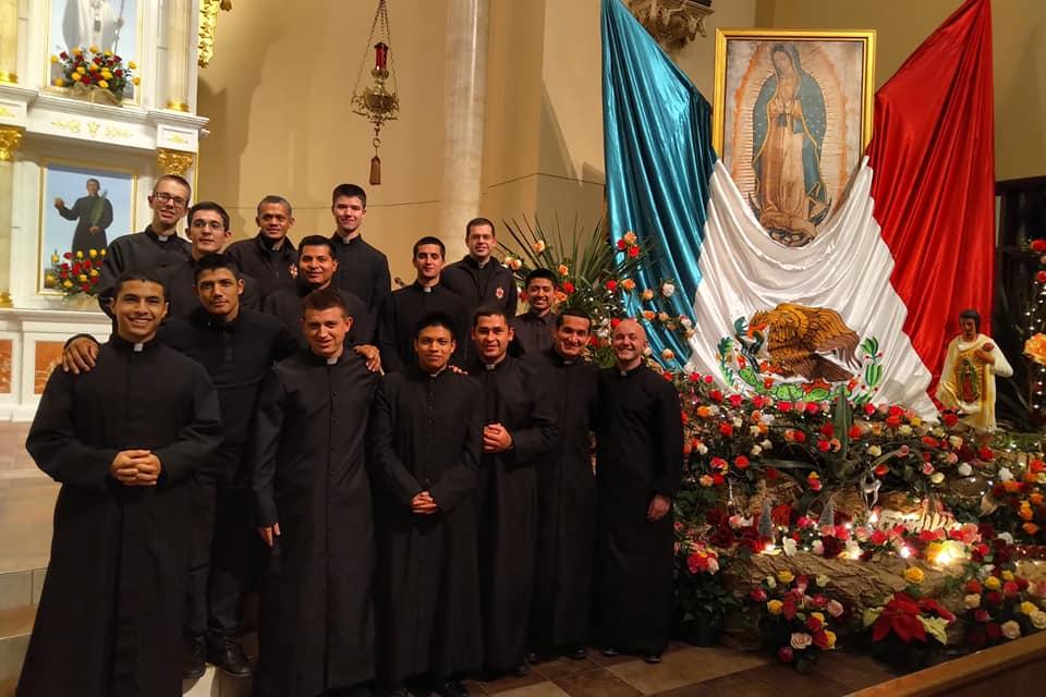 Celebración de la Virgen de Guadalupe de los Novicios en Estados Unidos
