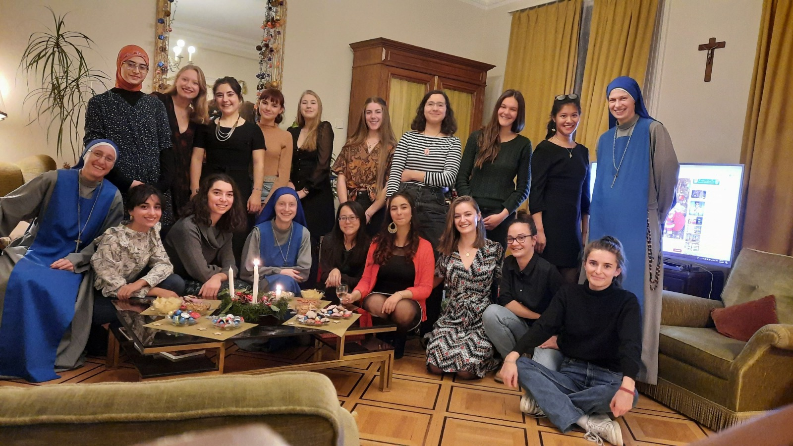 Santa Misa, cena festiva y concierto de Navidad en Suiza