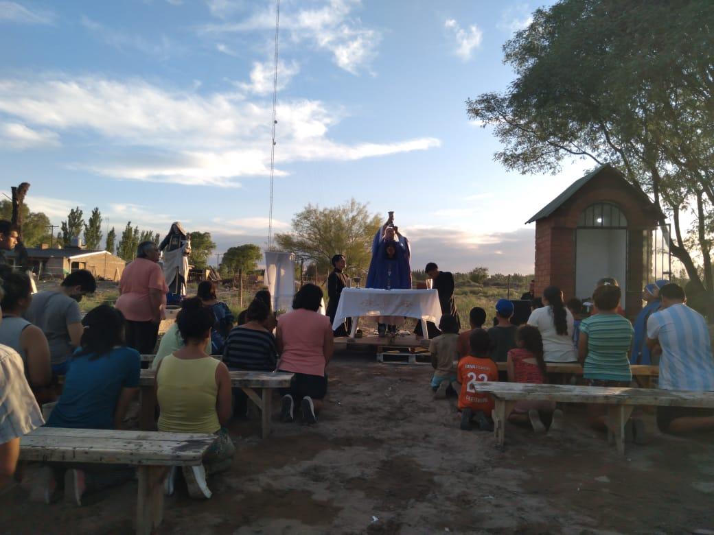 Misión Popular en Villa del Carmen Argentina