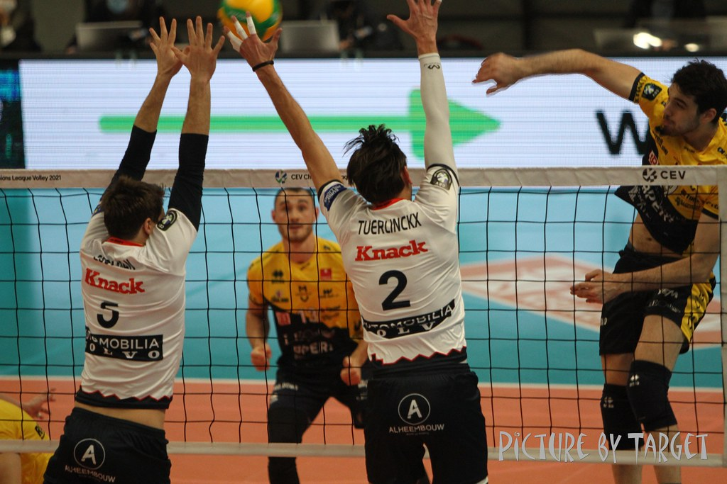 Knack Roeselare - Modena (CL): 2-3