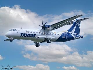 F-WWEI / YR-ATQ ATR72-600 Tarom s/n 1598 * Toulouse Blagnac 2020 *