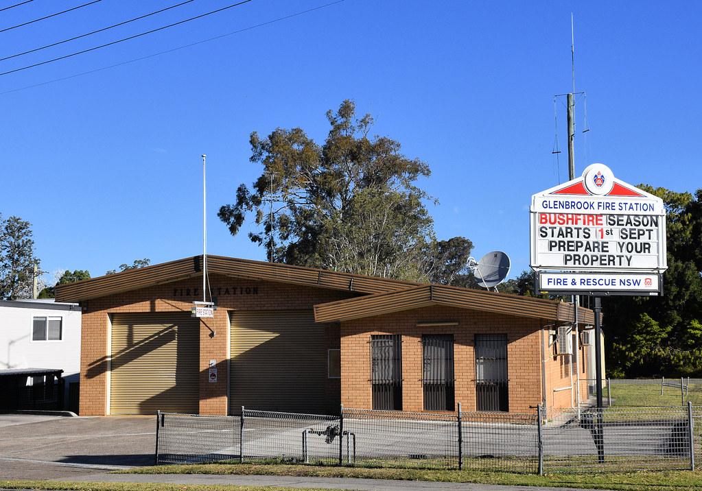 Fire Station, Glenbrook, NSW.