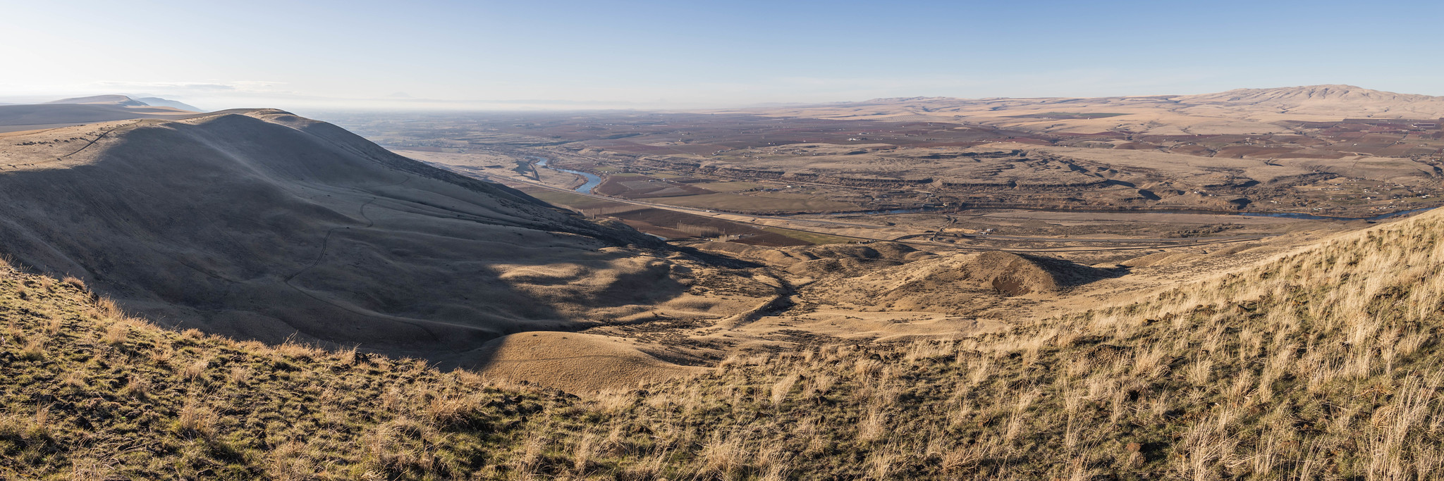 Panoramic view on Chandler Butte
