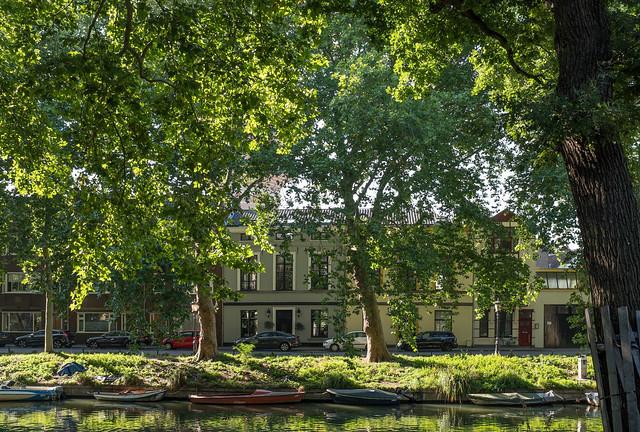 View to Van Asch van Wijckskade from Weerdsingel Oostzijde