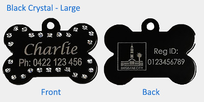 Personalised dog registration tags