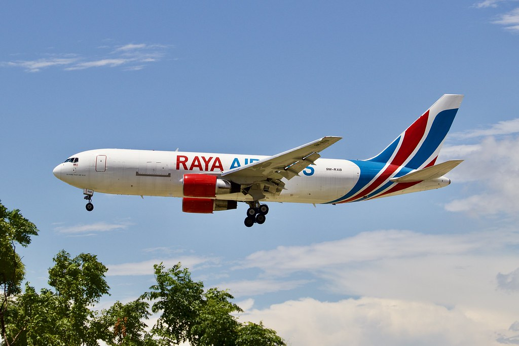 Raya Airways Boeing 767-232(BDSF) (9M-RXB)
