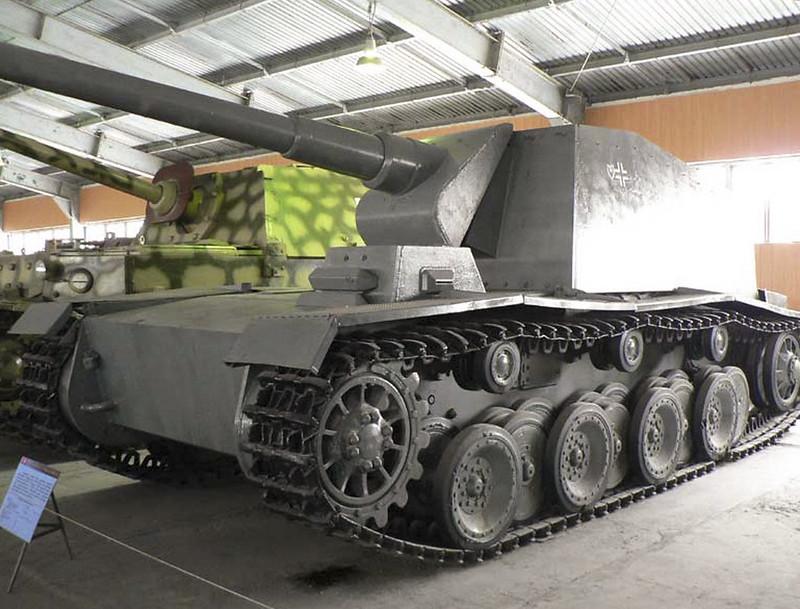Sturer Emil 12.8cm Kanone L61