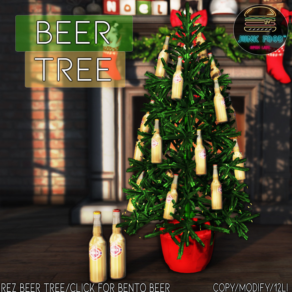 Junk Food - Beer Tree Ad