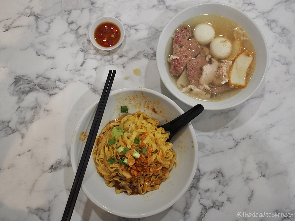 singapore,jalan bukit merah,redhill,榮發,金喜来,food review,mui siong minced meat noodle,review,梅松肉脞麵,food,