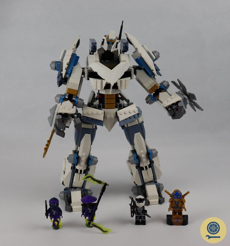 71738 Zane's Titan Mech Battle 1